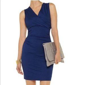 Diane von Furstenberg Navy Blue Parker Dress